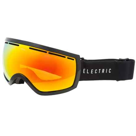 Electric EG2.5 Ski Goggles - Extra Lens in Gloss Black/Bronze Red Chrome - Closeouts