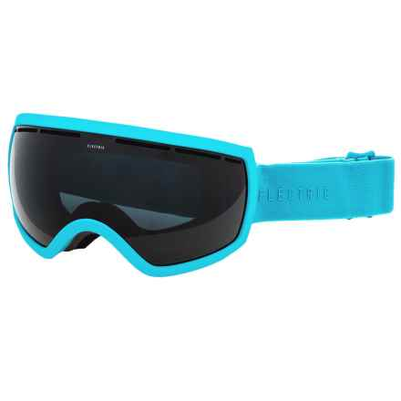 Electric EG2.5 Ski Goggles - Extra Lens in Light Blue/Jet Black - Closeouts
