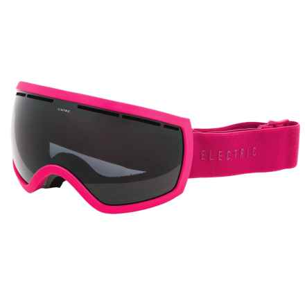 Electric EG2.5 Ski Goggles - Extra Lens in Solid Berry/Jet Black - Closeouts