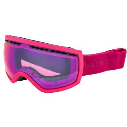 Electric EG2.5 Ski Goggles - Extra Lens in Solid Berry/Rose Blue Chrome - Closeouts