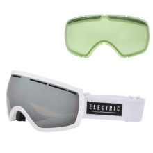 Electric EG2.5 Ski Goggles - Extra Lens in Stardust/Bronze/Silver Chrome - Closeouts