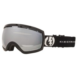 Electric EG2.5 Snowsport Goggle - Flash Colored Lens (For Women) in Gloss Black/Blue/Silver Chrome