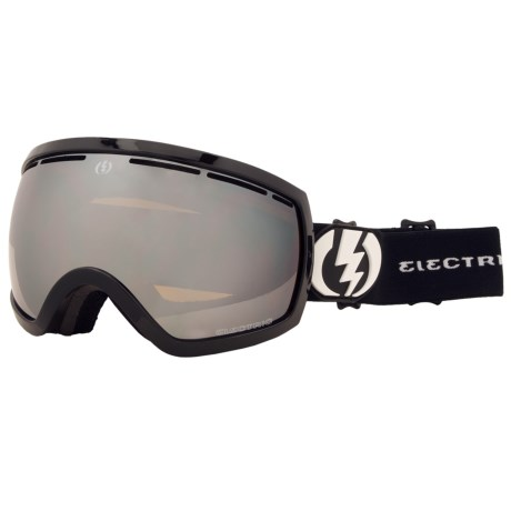 Electric EG2.5 Snowsport Goggles - Silver Chrome Lens (For Women) in Gloss Black/Bronze/Silver Chrome