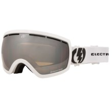 Electric EG2.5 Snowsport Goggles - Silver Chrome Lens (For Women) in Gloss White/Bronze/Silver Chrome - Closeouts