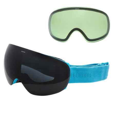 Electric EG3 Ski Goggles - Extra Lens in Light Blue/Jet Black - Closeouts