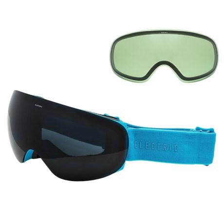 Electric EG3.5 Snowsport Goggles - Extra Lens in Light Blue/Jet Black