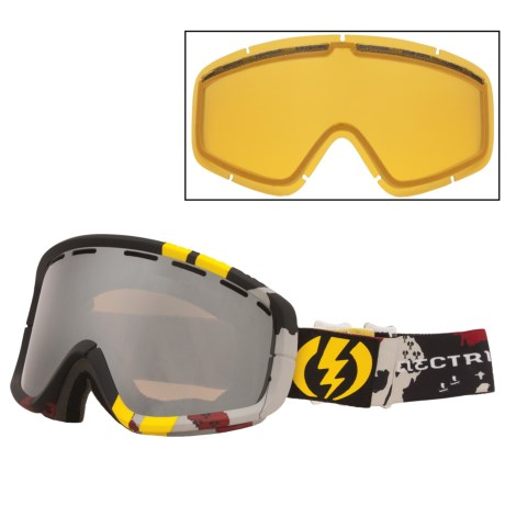 Electric EGB2 Snowsport Goggle - Signature Series in Anreas Wiig/Bronze/Silver Chrome