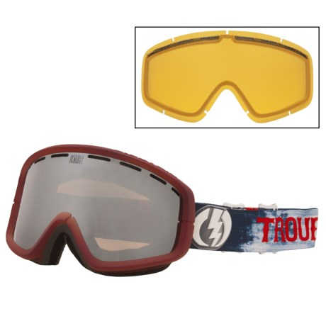 Electric EGB2 Snowsport Goggle - Signature Series in Trouble Andrew/Bronze/Silver Chrome