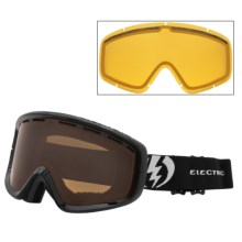 Electric EGB2 Snowsport Goggles in Gloss Black/Bronze - Closeouts
