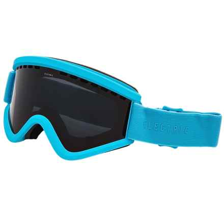 Electric EGV Ski Goggles - Extra Lens in Light Blue/Jet Black - Closeouts