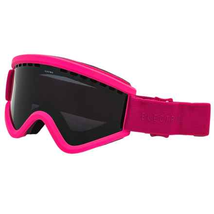 Electric EGV Ski Goggles - Extra Lens in Solid Berry/Jet Black - Closeouts
