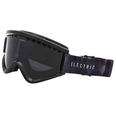Electric EGV Ski Goggles - Extra Lens in Volcom Co-Lab/Jet Black - Closeouts