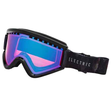 Electric EGV Ski Goggles - Extra Lens in Volcom Co-Lab/Rose Blue Chrome - Closeouts