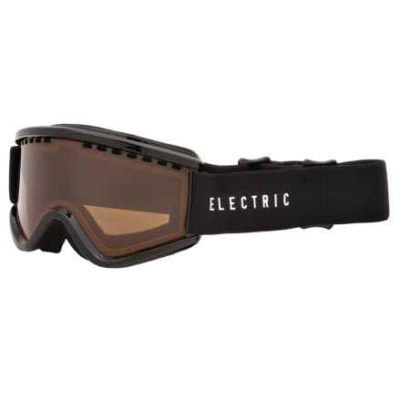 Electric EGV.K Ski Goggles (For Big Kids) in Gloss Black/Bronze - Closeouts