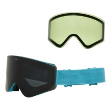 Electric EGX Ski Goggles - Extra Lens in Light Blue/Jet Black - Closeouts