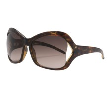 Electric Heartache Sunglasses (For Women) in Tortoise Shell/Brown Gradient - Closeouts