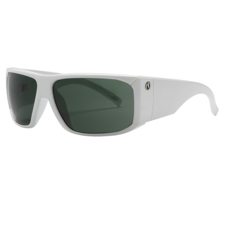 Electric Jailbreak Sunglasses in Gloss White/Grey
