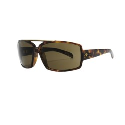 Electric OHM III Sunglasses in Tortoise Shell/Bronze