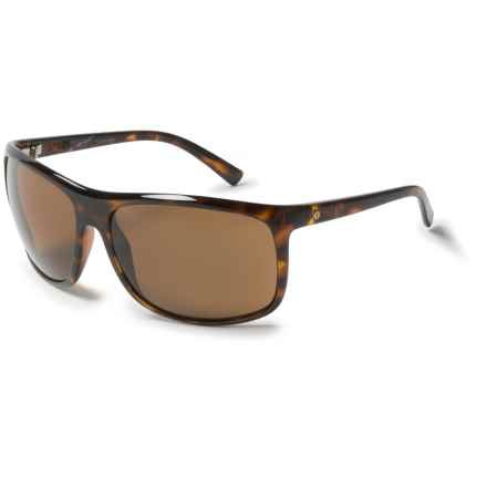 Electric Outline Sunglasses - Polarized in Gloss Tortoise/Melanin Bronze - Overstock