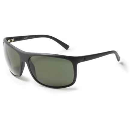 Electric Outline Sunglasses - Polarized in Matte Black/Melanin Grey - Overstock