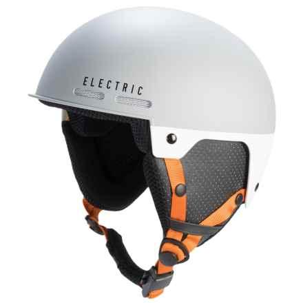 Electric Saint Ski Helmet in Matte Grey/Orange - Closeouts