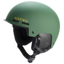 Electric Saint Ski Helmet in Matte Hunter Green - Closeouts