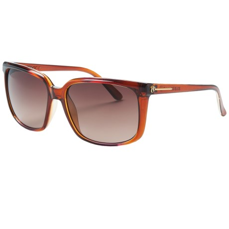 Electric Venice Sunglasses in Rose Fade/Brown Gradient