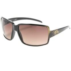 Electric Vol Sunglasses (For Women) in Havana Gold/Brown Gradient