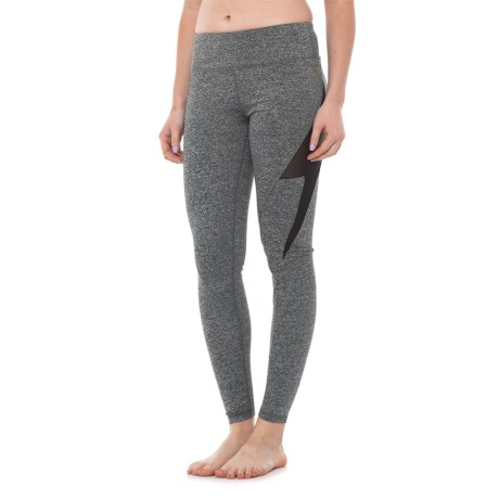 Electric Yoga Bolt Leggings (For Women) in Heather Grey