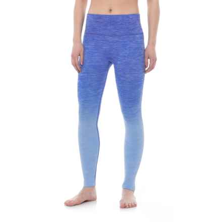 Electric Yoga Faded Leggings (For Women) in Sky Blue - Closeouts