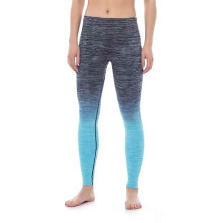 Electric Yoga Faded Leggings (For Women) in Turquoise - Closeouts