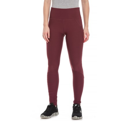 3a9b51d74f033 Electric Yoga Idol Leggings (For Women) in Burgundy - Closeouts