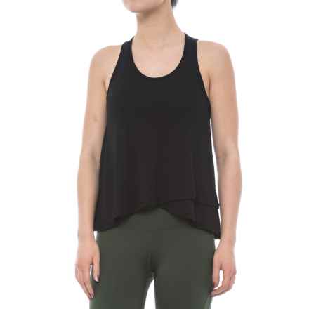 Electric Yoga Loose Tank Top (For Women) in Black - Closeouts