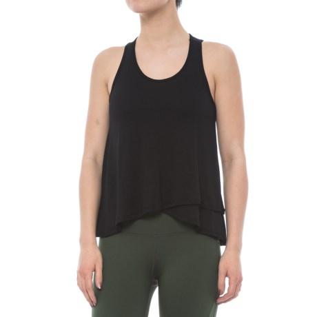 Electric Yoga Loose Tank Top (For Women) in Black