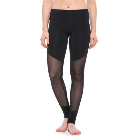 Electric Yoga Meshy Leggings (For Women) in Black