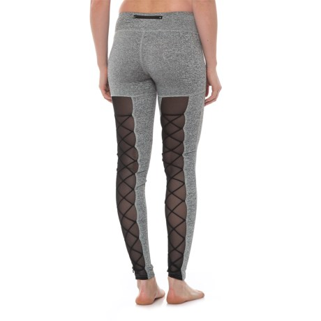 Electric Yoga Moulin Rouge Leggings (For Women) in Heather Grey