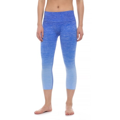 Electric Yoga Ombre Faded Capris (For Women)