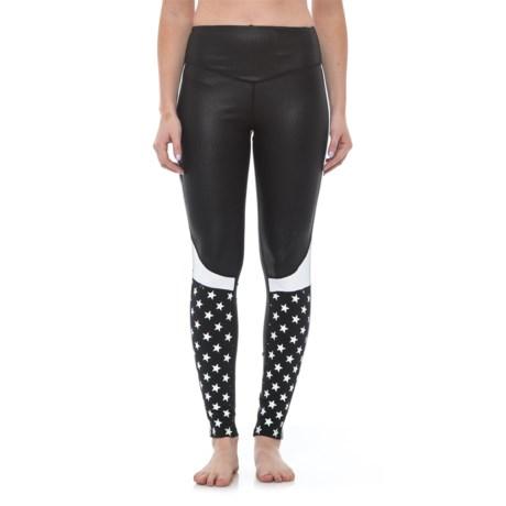 Electric Yoga Star Struck Leggings (For Women) in Black/White