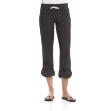 Element Alcove Roll-Up Pants - Slim Fit (For Women) in Shale - Closeouts