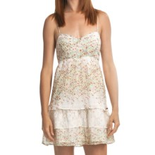 Element Corina Dress - Lace Trim, Criss-Cross Straps (For Women) in Natural - Closeouts