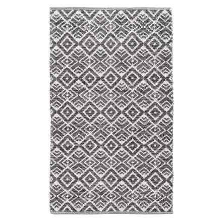 Element Cotton Accent Rug - 3x5' in Charcoal - Overstock