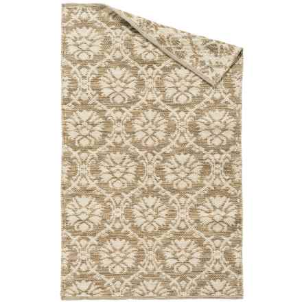 Element Cotton Jacquard Accent Rug - 3x5' in Taupe - Overstock