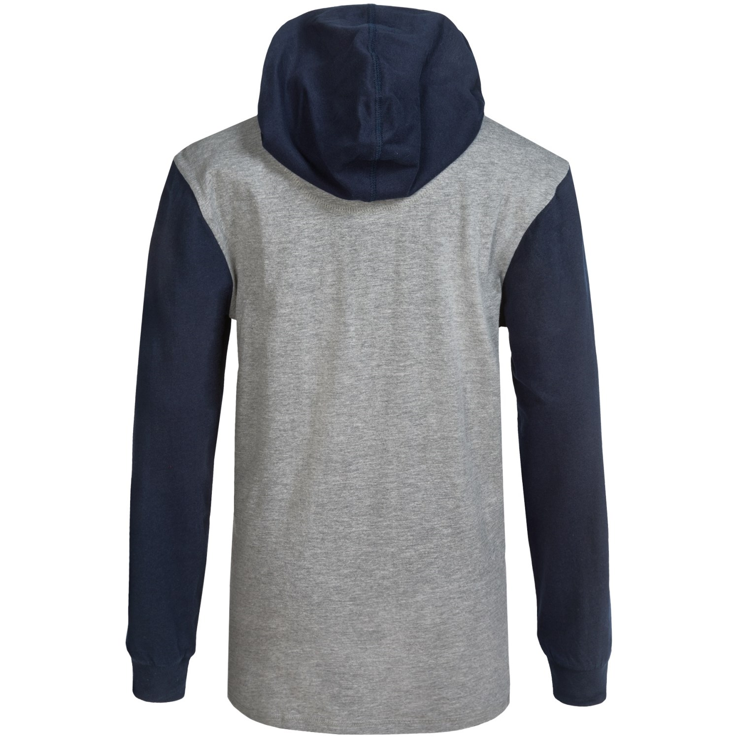 Element creighton hooded henley shirt for little and big for Boys long sleeve shirt with hood