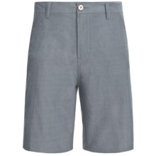 Element Dankirk Walkshorts - Cotton Chambray (For Men) in Navy - Closeouts