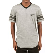 Element Dempsy T-Shirt - V-Neck, Short Sleeve (For Men) in Grey Heather - Closeouts