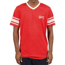 Element Dempsy T-Shirt - V-Neck, Short Sleeve (For Men) in Red Heather - Closeouts