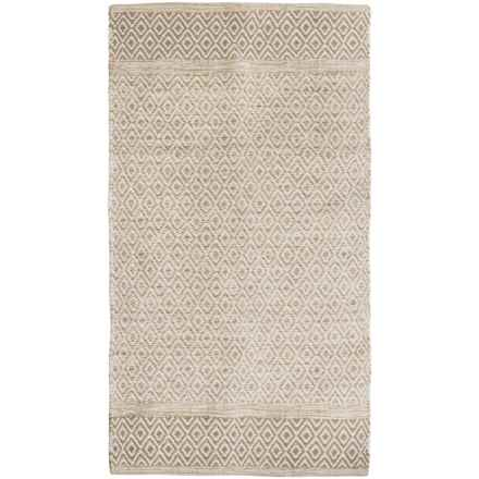 "Element Diamond Jacquard Rug - 36x60"" in Sand - Closeouts"
