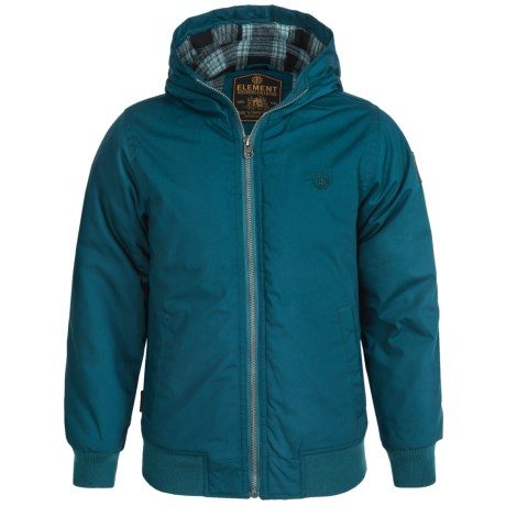 Element Dulcey Hooded Jacket Insulated (For Little and Big Boys)