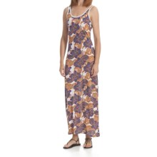 Element Festival Maxi Dress - Cotton, Sleeveless (For Women) in White - Closeouts