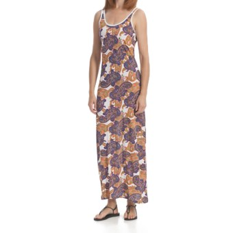 Element Festival Maxi Dress - Cotton, Sleeveless (For Women) in White